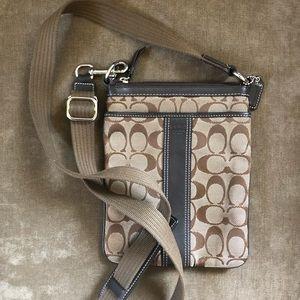 Genuine coach sling bag